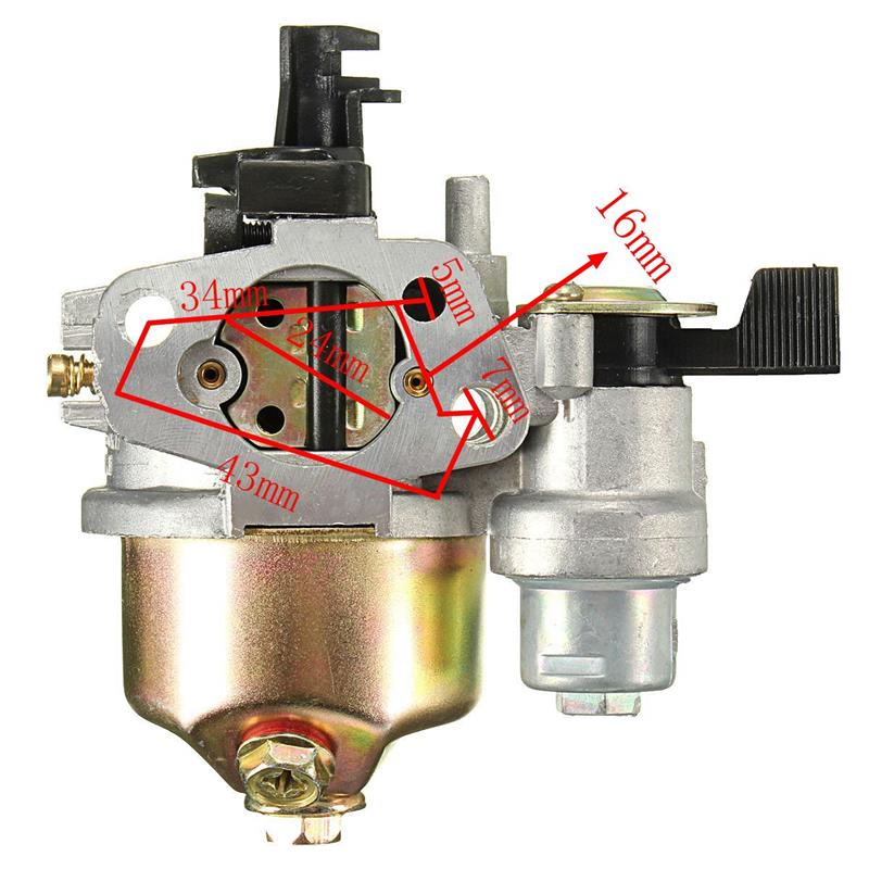 Replaces Honda GX120 Carburetor