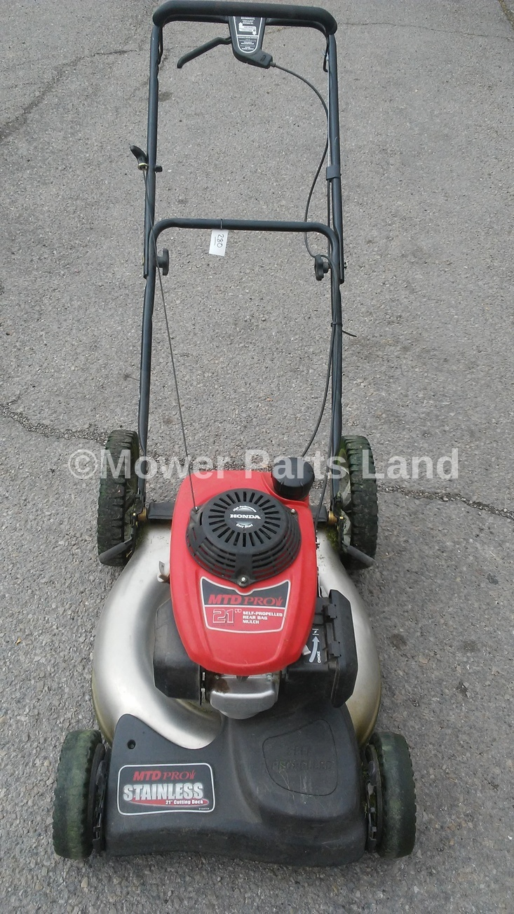 Mtd Pro Lawn Mower Model 12av55dq713 Carburetor