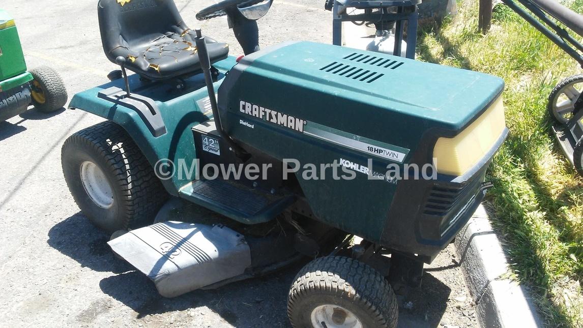 Replaces Craftsman Model 917.252700 Carburetor Rebuild Kit - Mower Parts Land