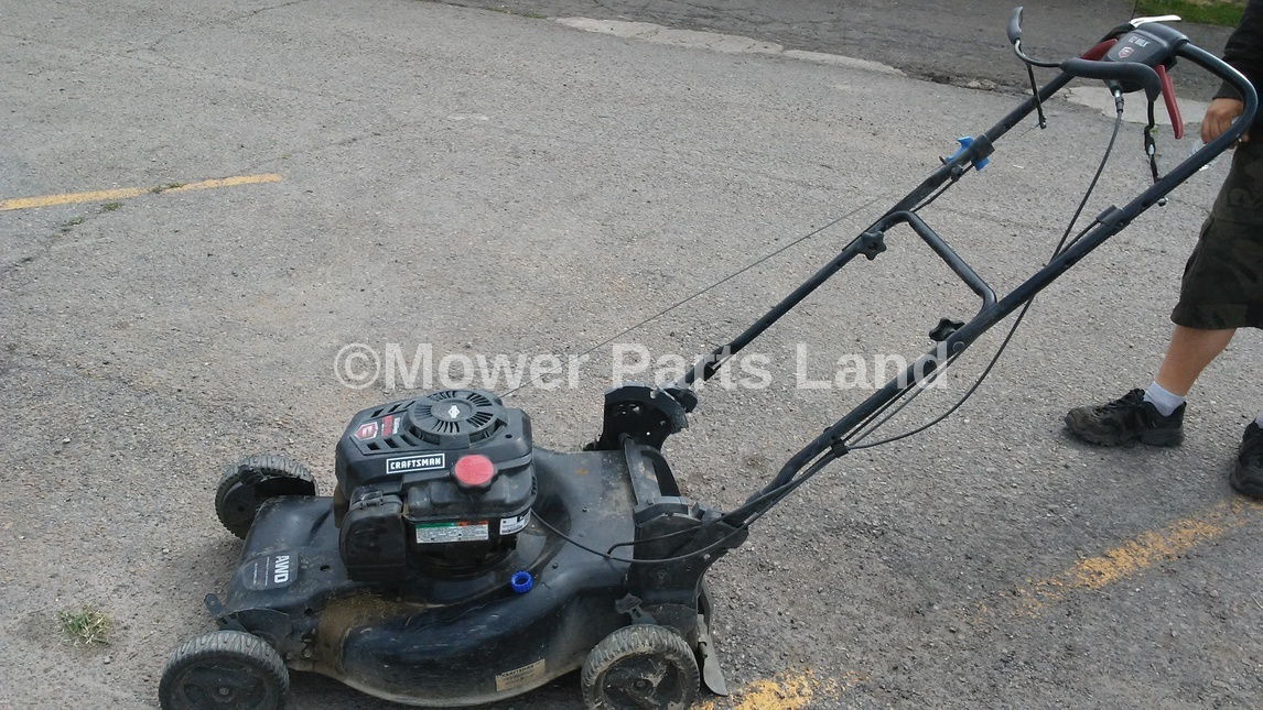 Craftsman Model 917 Push Mower : Craftsman lawn mower model drive belt