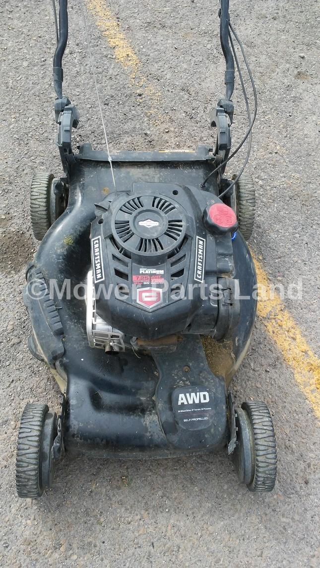 Craftsman Lawn Mower Belts : Craftsman lawn mower model drive belt