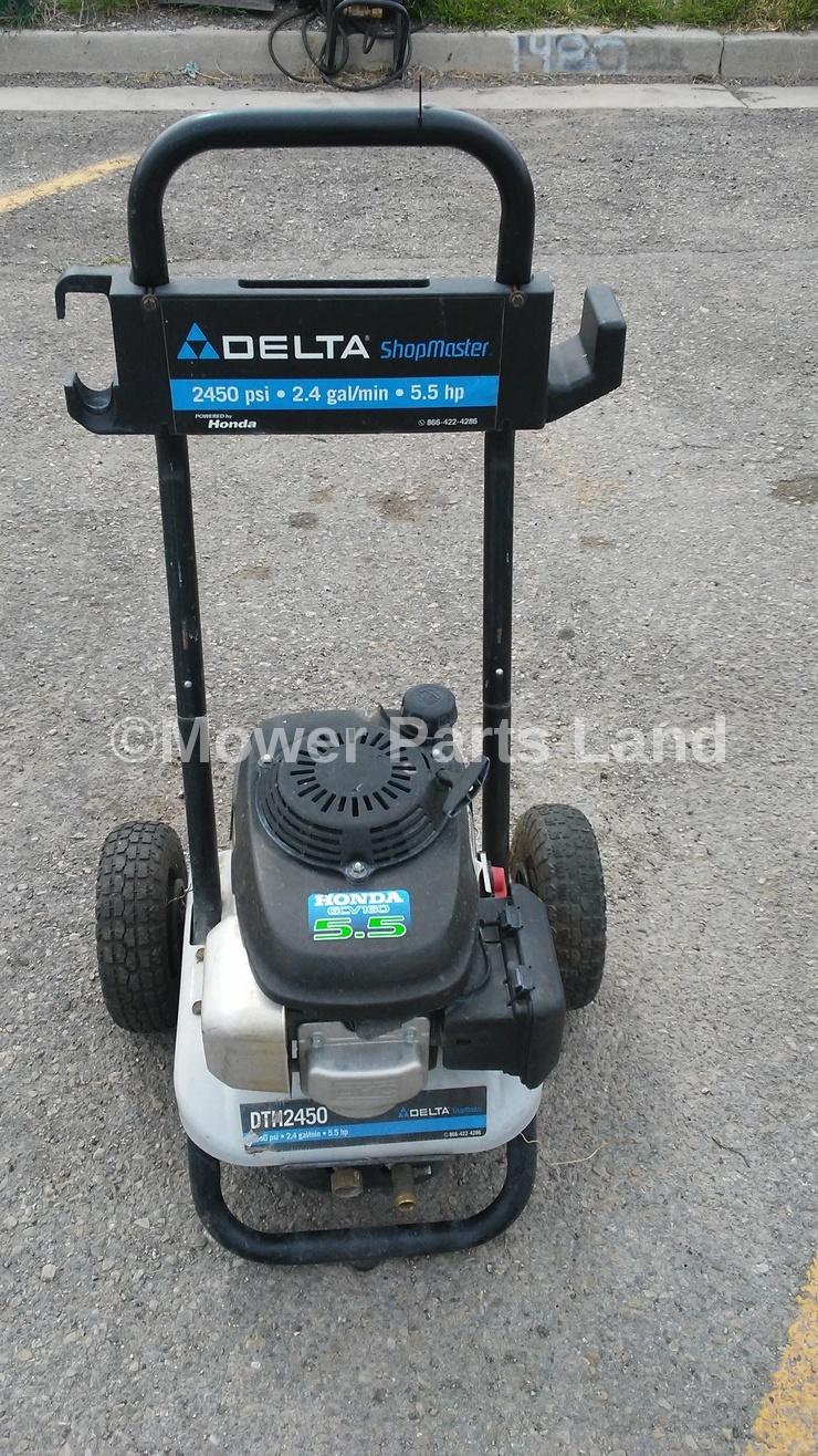 Delta Master Dth2450 1 Pressure Washer Carburetor