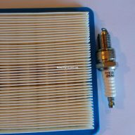 Replaces Craftsman Model 917.376990 Lawn Mower Air Filter & Spark Plug Tune-up Kit