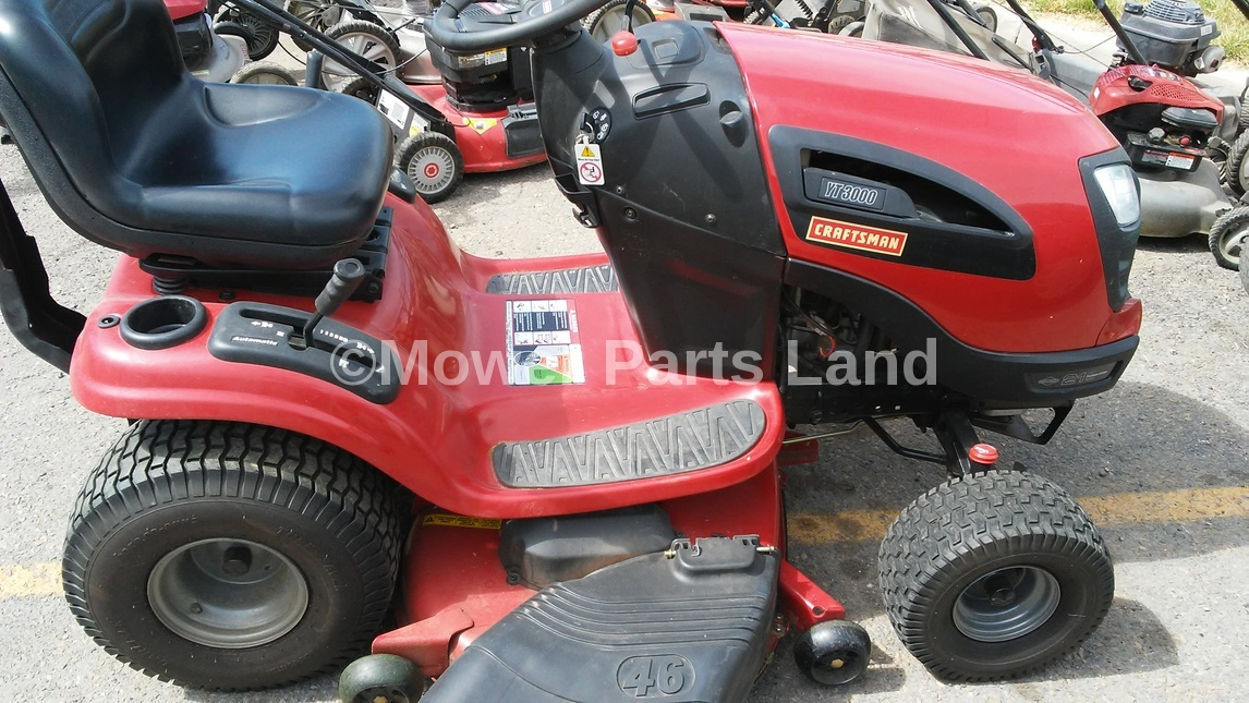 Craftsman Model 917 Push Mower : Craftsman riding lawn mower model deck belt