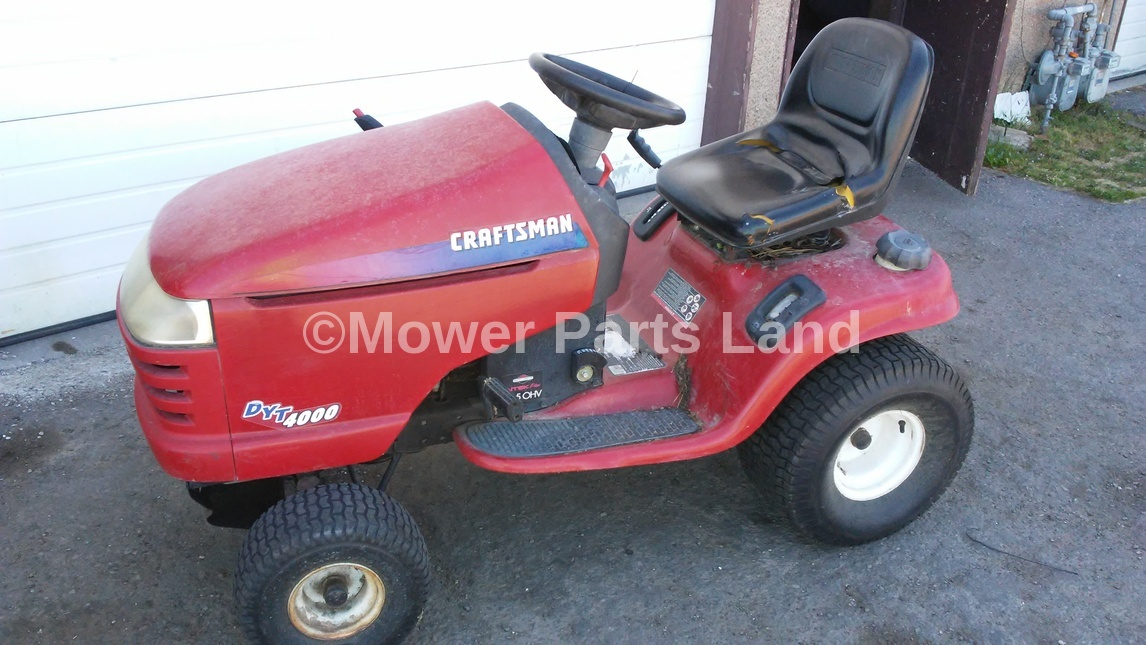 Craftsman Model 917 Push Mower : Replaces craftsman riding lawn mower deck belt