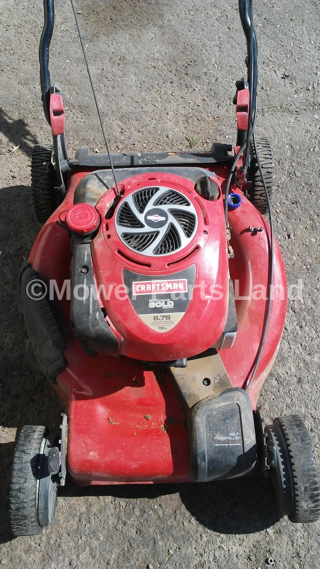 Craftsman Model 917 Push Mower : Replaces craftsman lawn mower model mulching