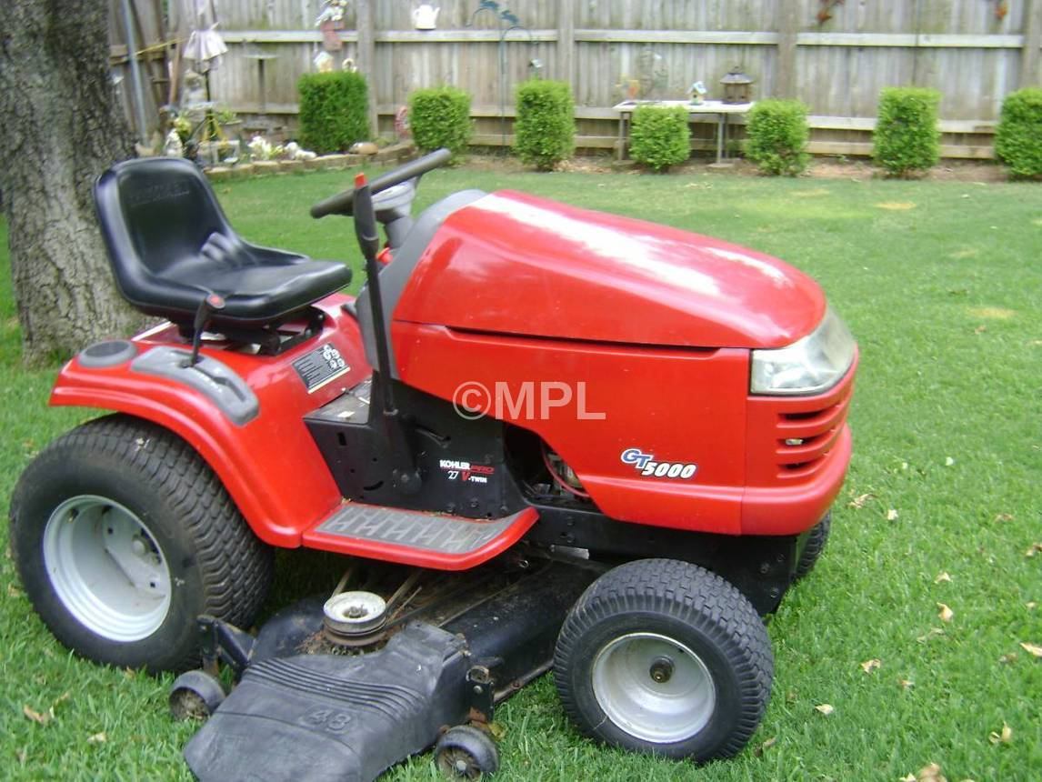 Craftsman Riding Lawn Mower Repair : Replaces craftsman model riding lawn mower deck