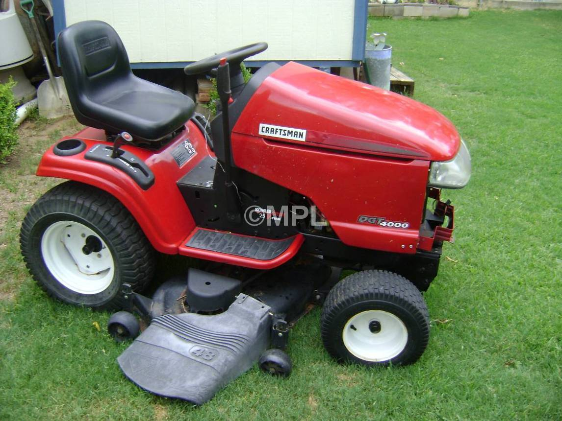 Craftsman Riding Lawn Mower Repair : Replaces craftsman dgt model riding lawn
