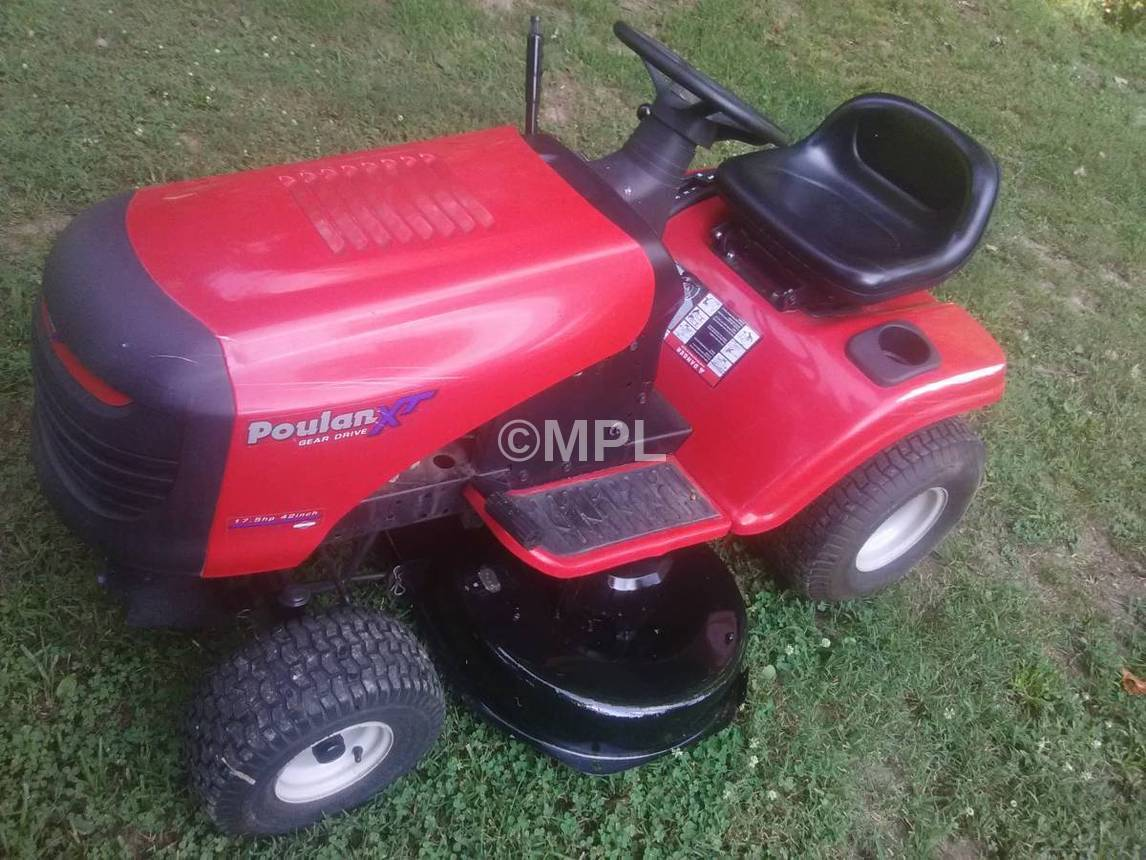 Replaces Poulan Xt Riding Mower