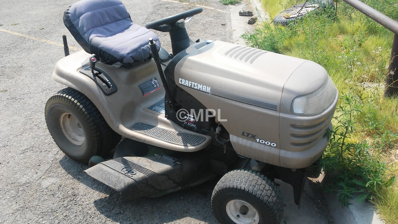 Replaces Craftsman Lawn Tractor Model 917 272462
