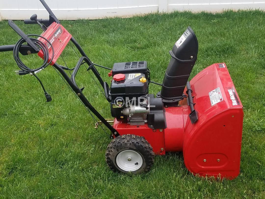 Yard Machines Model As Ee Snow Thrower Recoil Pull Start on Mtd Yard Man Tiller Parts