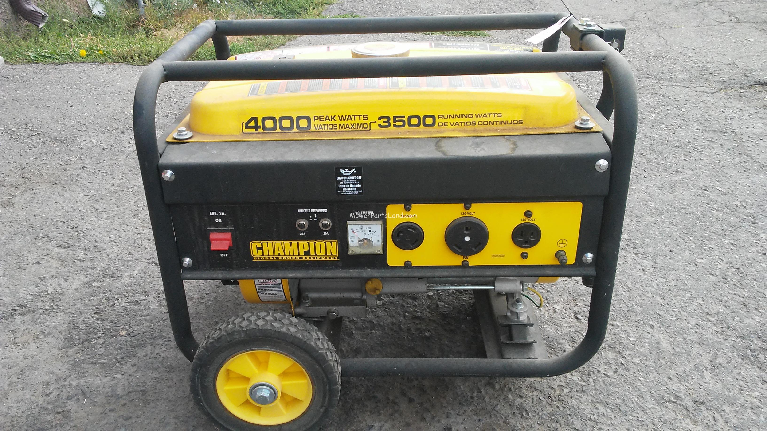 Champion 196cc 4000watt Generator