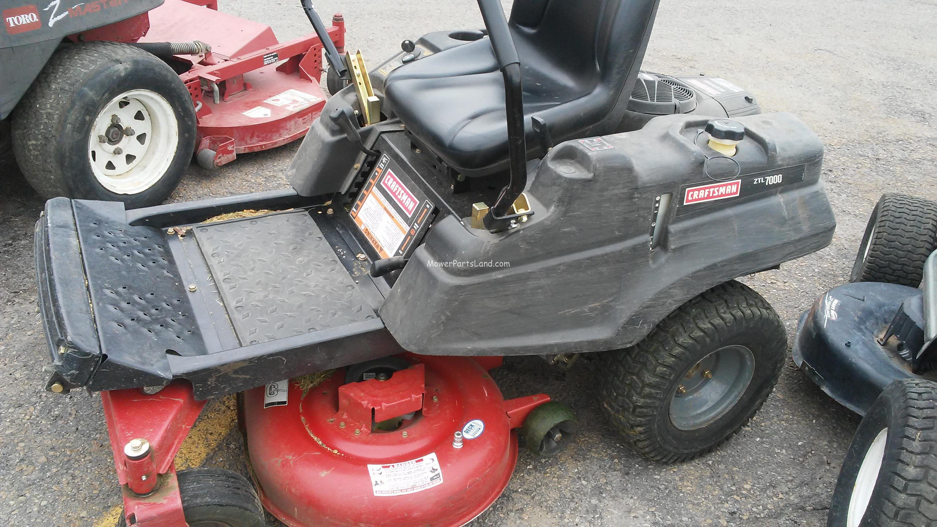 Replaces Craftsman Model 247 25001 Zero Turn Mower Carburetor
