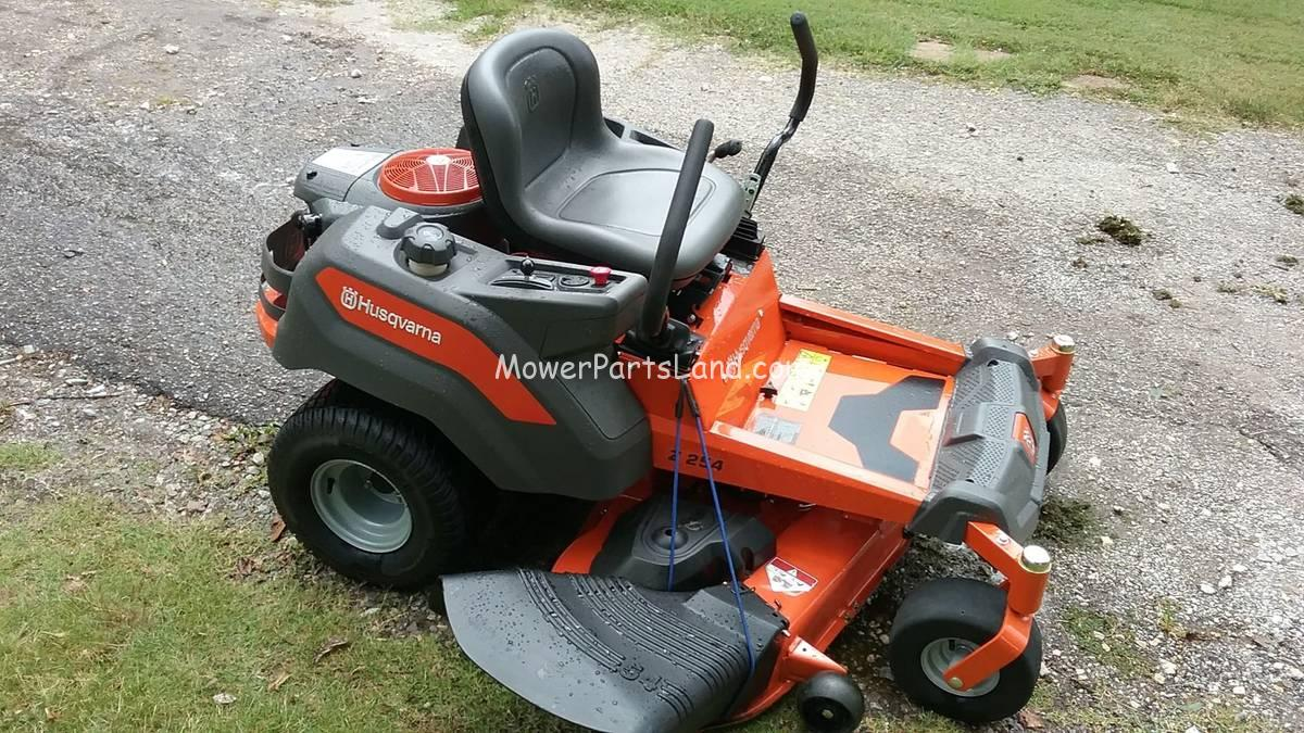 Husqvarna Z 254 Zero Turn Mower Parts