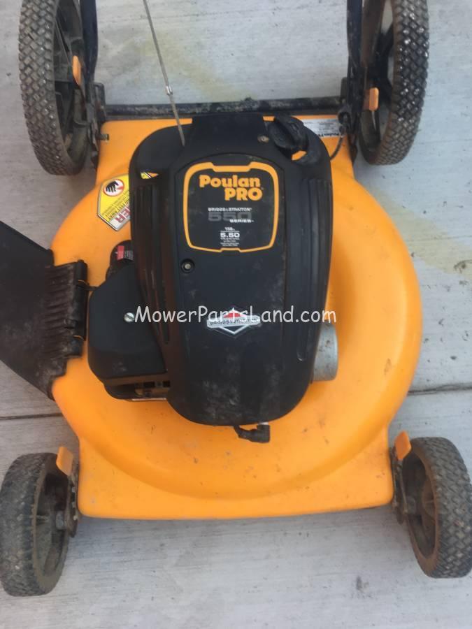 replaces poulan pro 550 series lawn mower carburetor