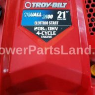 Replaces Troy Bilt Snow Blower Model 31AS2T5F711 Ignition Key