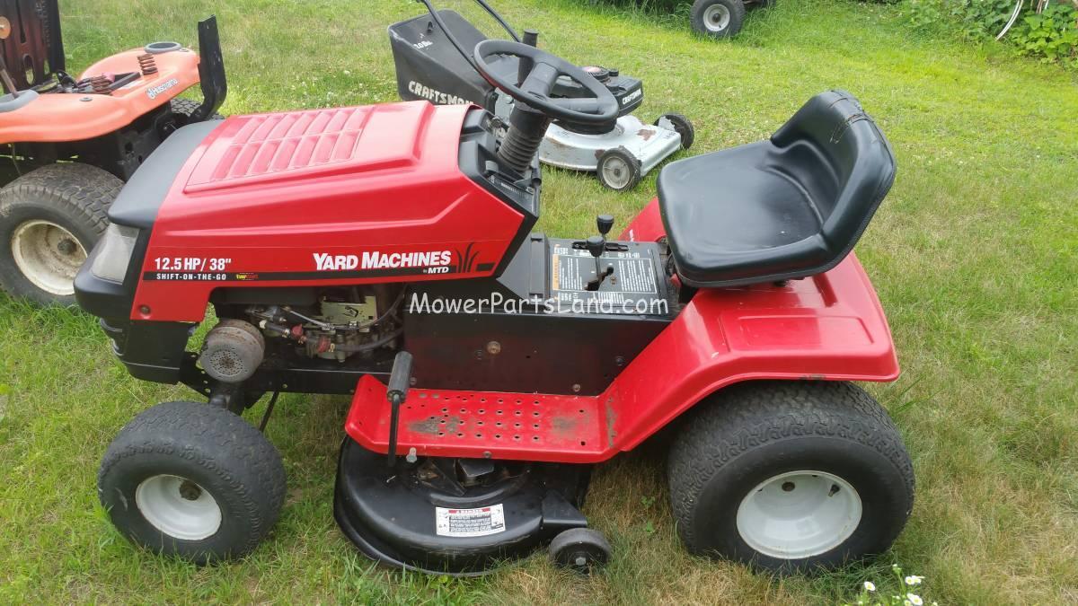 Yard Machine Riding Mower Manual