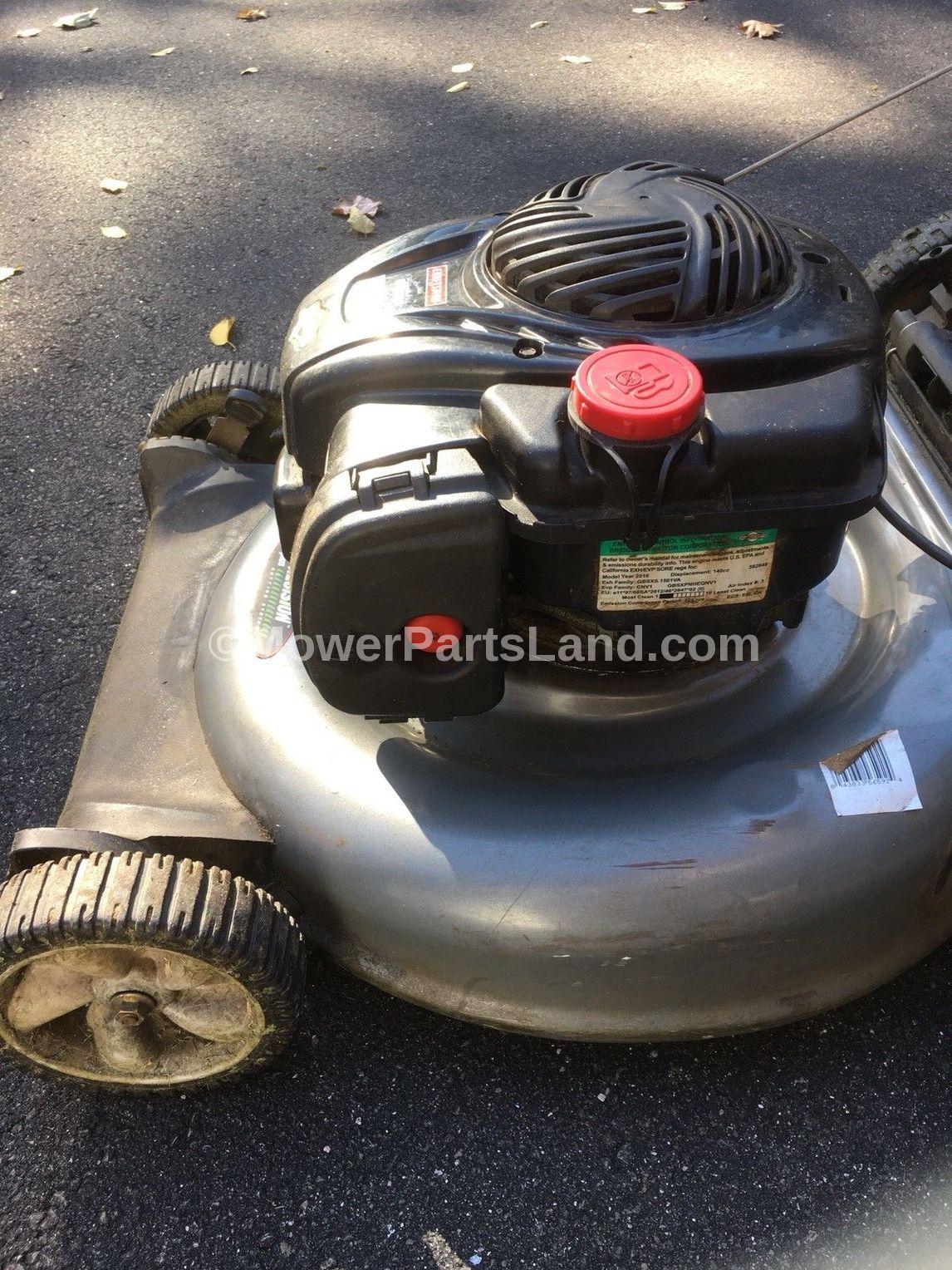 Craftsman Model Lawn Mower Parts on Mtd Yard Man Tiller Parts