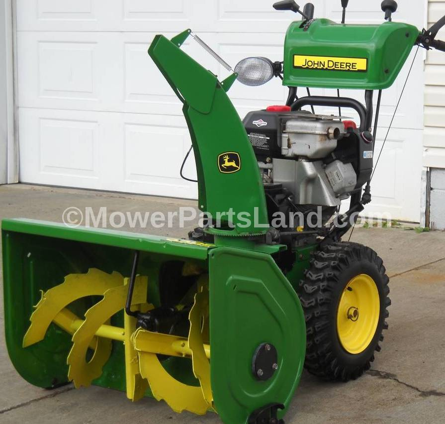 John Deere E Snow Blower Parts on Yard Machines Lawn Mower Spark Plug