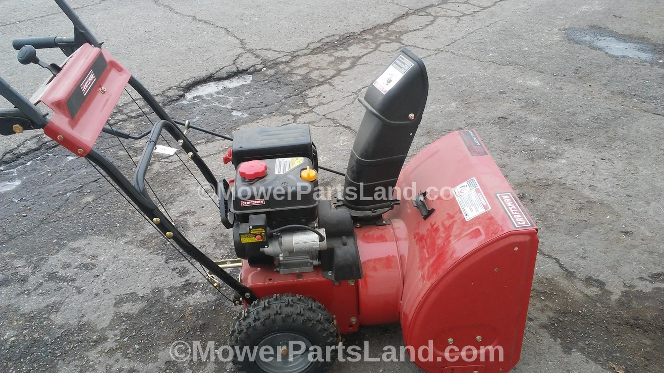 Parts For Craftsman Snow Blower
