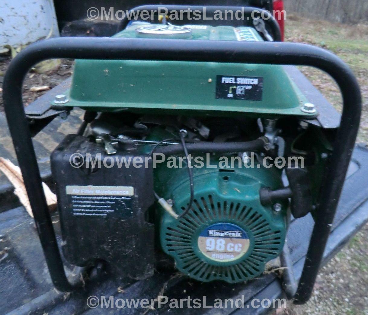 King Craft Generator Carburetor