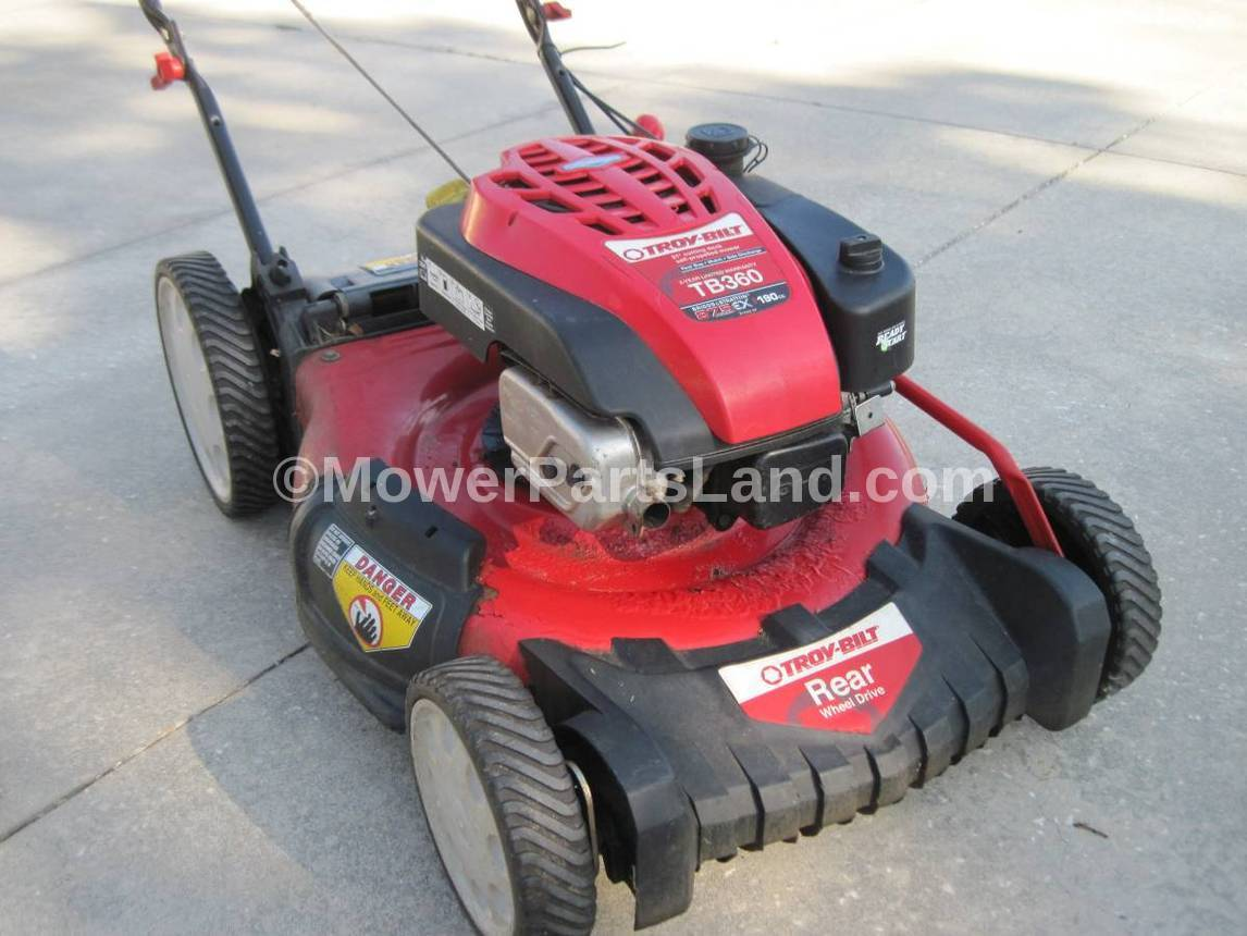 Replaces Troy Bilt Tb360 Lawn Mower Carburetor