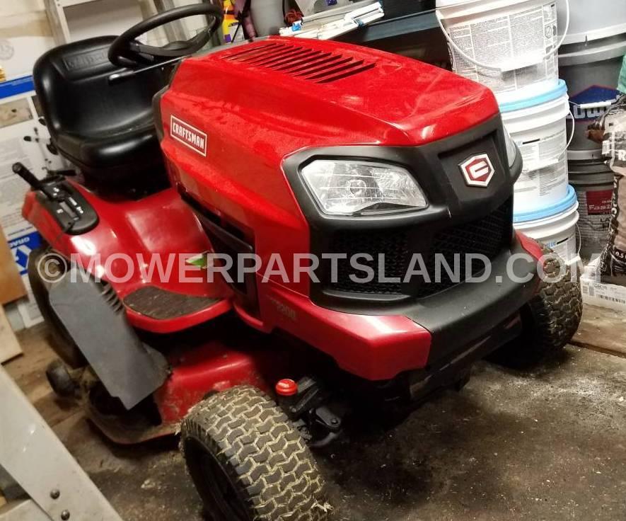 Craftsman Model 917 203810 Lawn Tractor Parts - Mower Parts Land