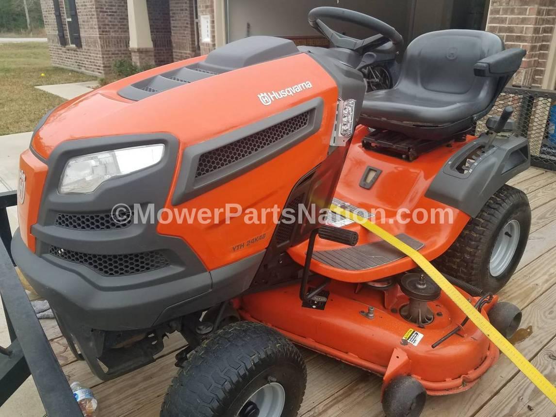 carburetor for husqvarna yth24k48 lawn tractor - mower parts land  mower parts land