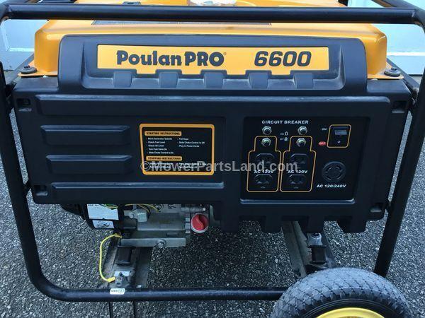 Carburetor For Poulan Pro 6600 7600 PP6600 PP6600E PP7600E Generator