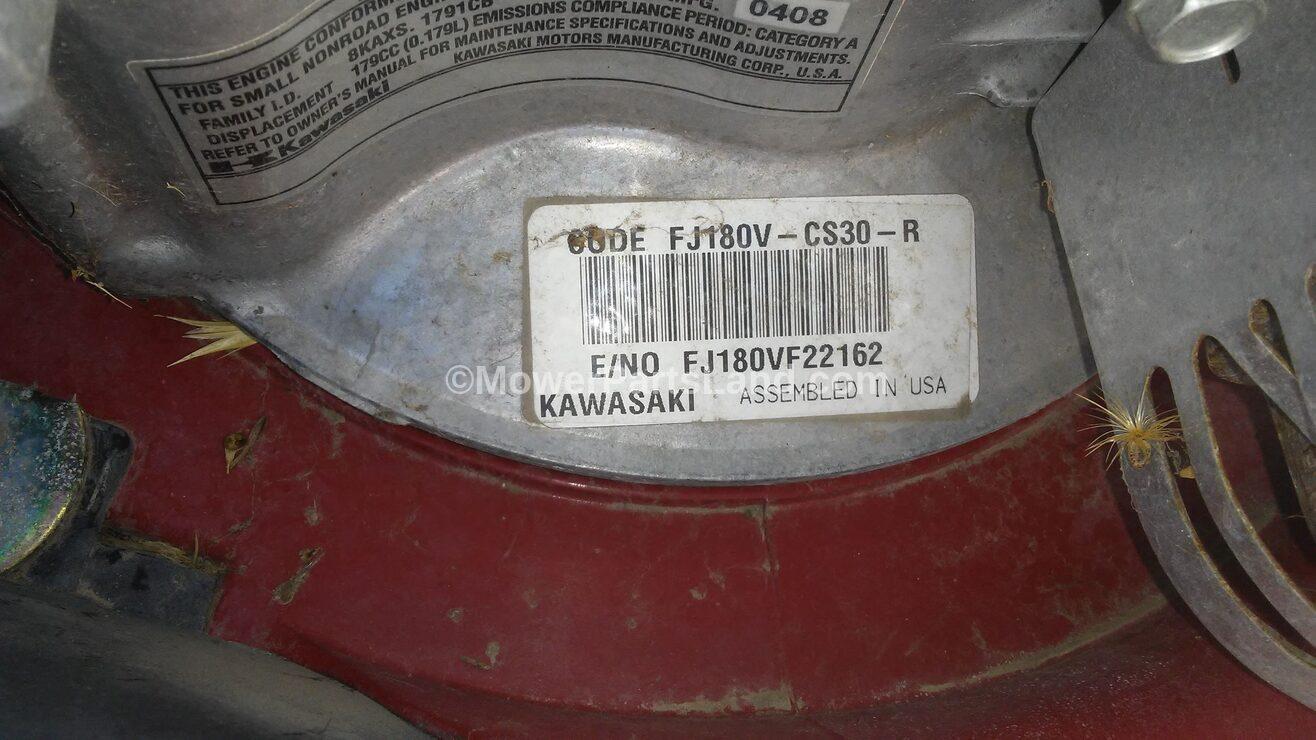 Kawasaki Engine Numbers Location